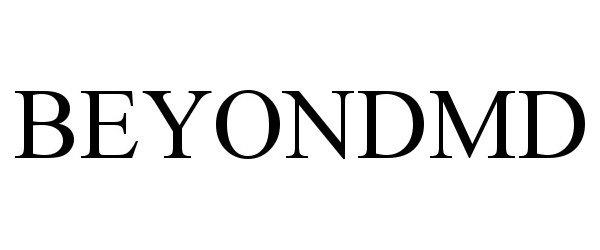 Trademark Logo BEYONDMD