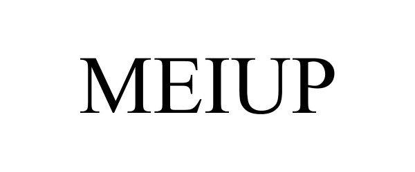 Trademark Logo MEIUP