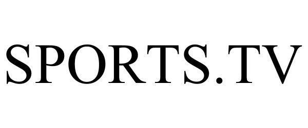 Trademark Logo SPORTS.TV