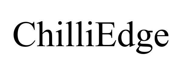 Trademark Logo CHILLIEDGE