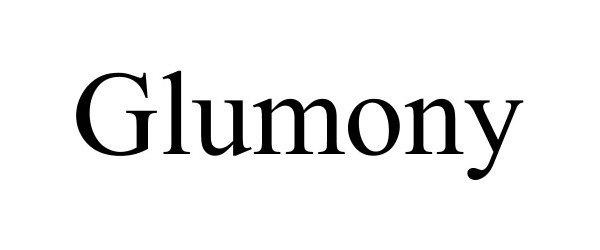 Trademark Logo GLUMONY