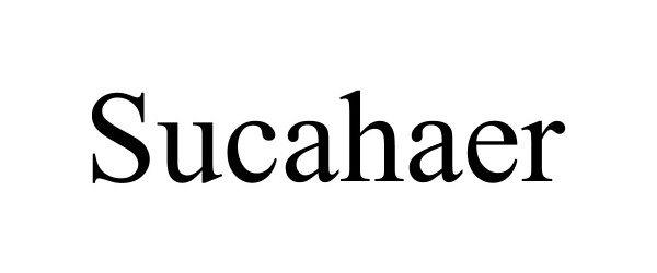 Trademark Logo SUCAHAER