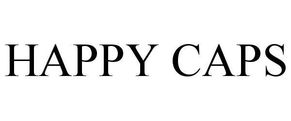 Trademark Logo HAPPY CAPS
