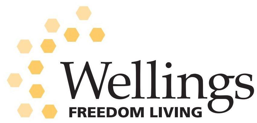 Trademark Logo WELLINGS FREEDOM LIVING