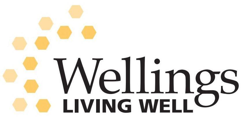 Trademark Logo WELLINGS LIVING WELL