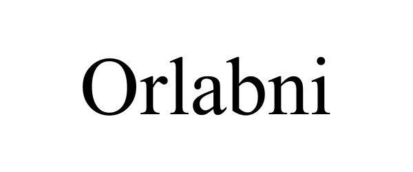 Trademark Logo ORLABNI