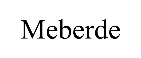 Trademark Logo MEBERDE