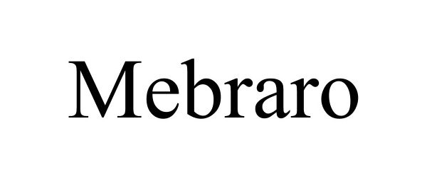 Trademark Logo MEBRARO