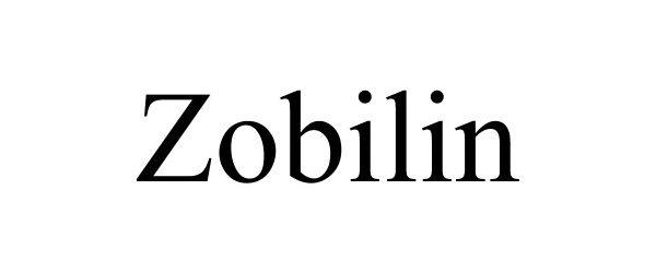Trademark Logo ZOBILIN