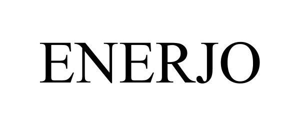 Trademark Logo ENERJO