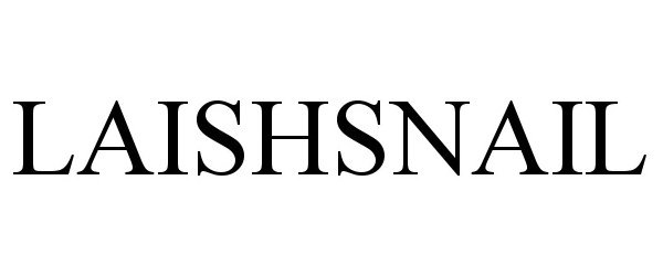 Trademark Logo LAISHSNAIL