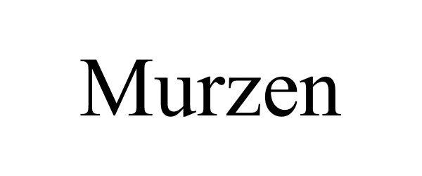 Trademark Logo MURZEN