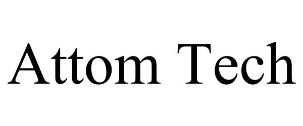 Trademark Logo ATTOM TECH