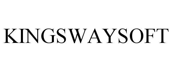 Trademark Logo KINGSWAYSOFT