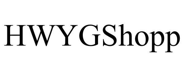 Trademark Logo HWYGSHOPP