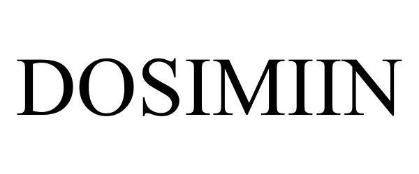 Trademark Logo DOSIMIIN
